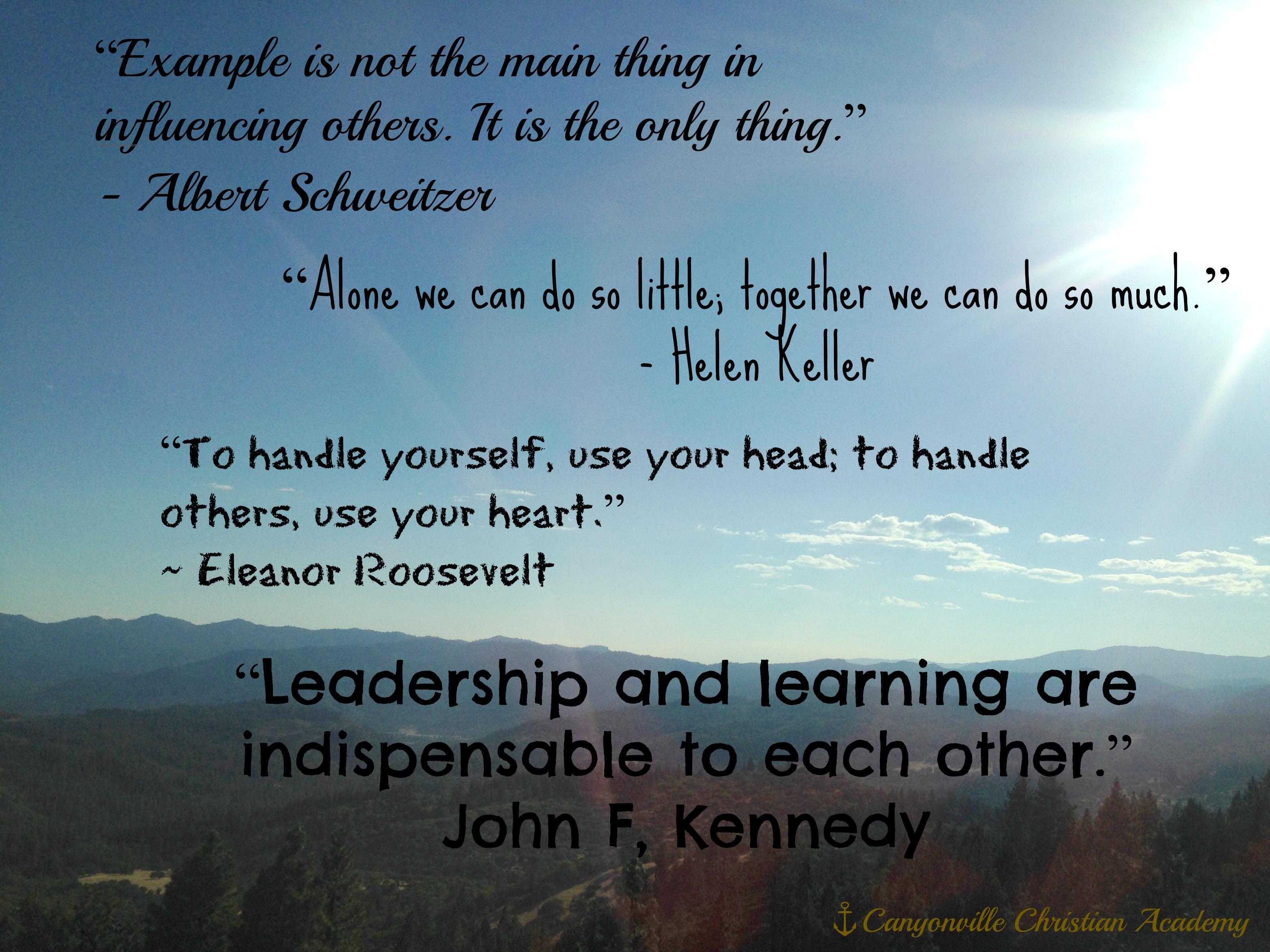 Academy Quotes